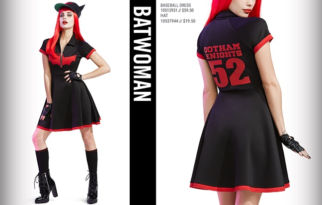 Batwoman Dress $59.59 and Hat $19.50