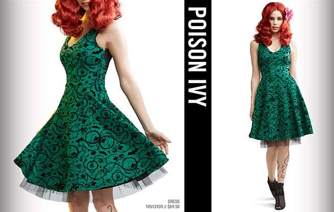 Poison Ivy Dress $69.50