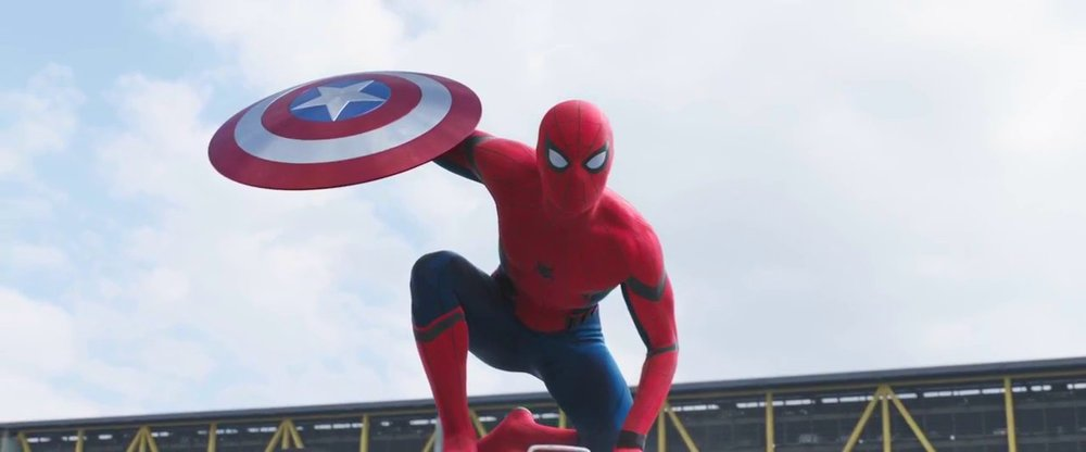 Hi Spidey! Tom Holland as the new Spider Man!