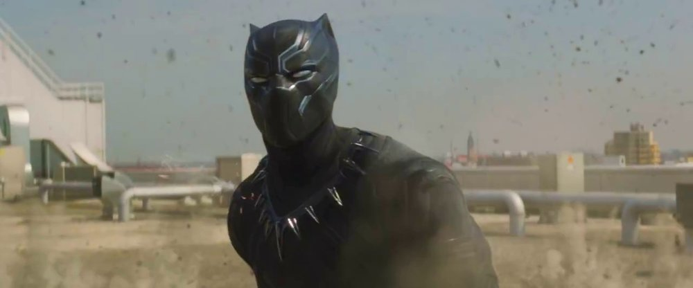 T'Challa fit quite well into the narrative