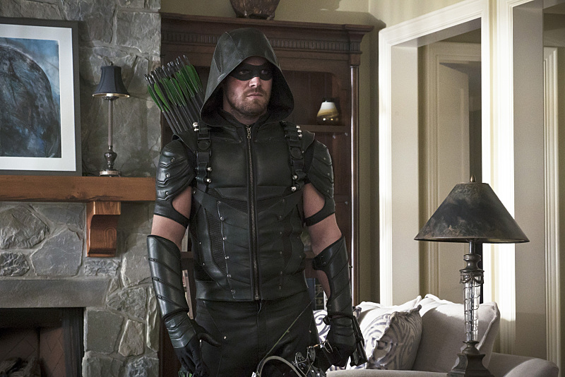 weirdly enough... the Green Arrow looks strange in the daylight