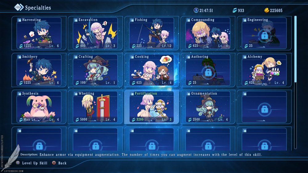 Star Ocean 5's  new specialties system