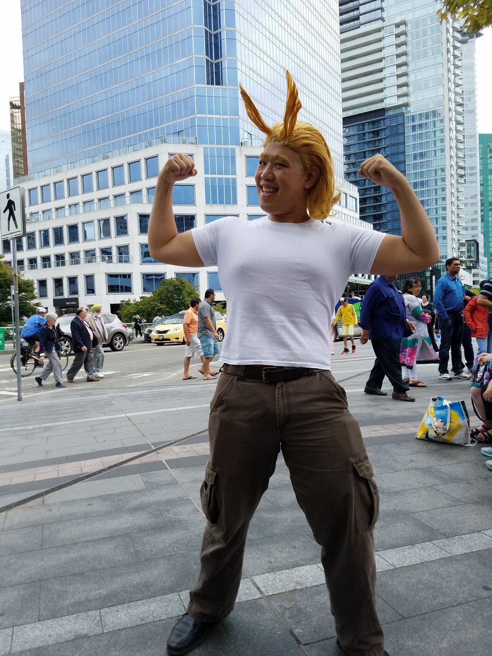 Casual All Might