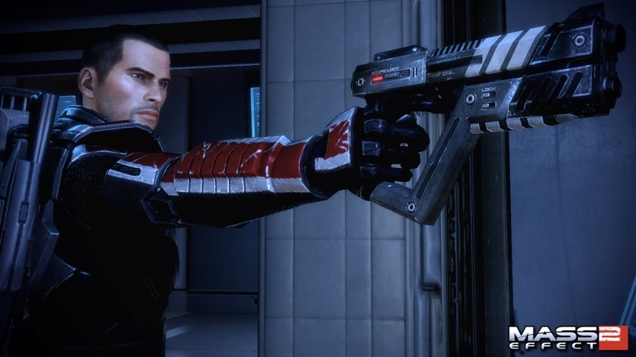 paragon or renegade, (MALE) Shepard is arguably bad ass