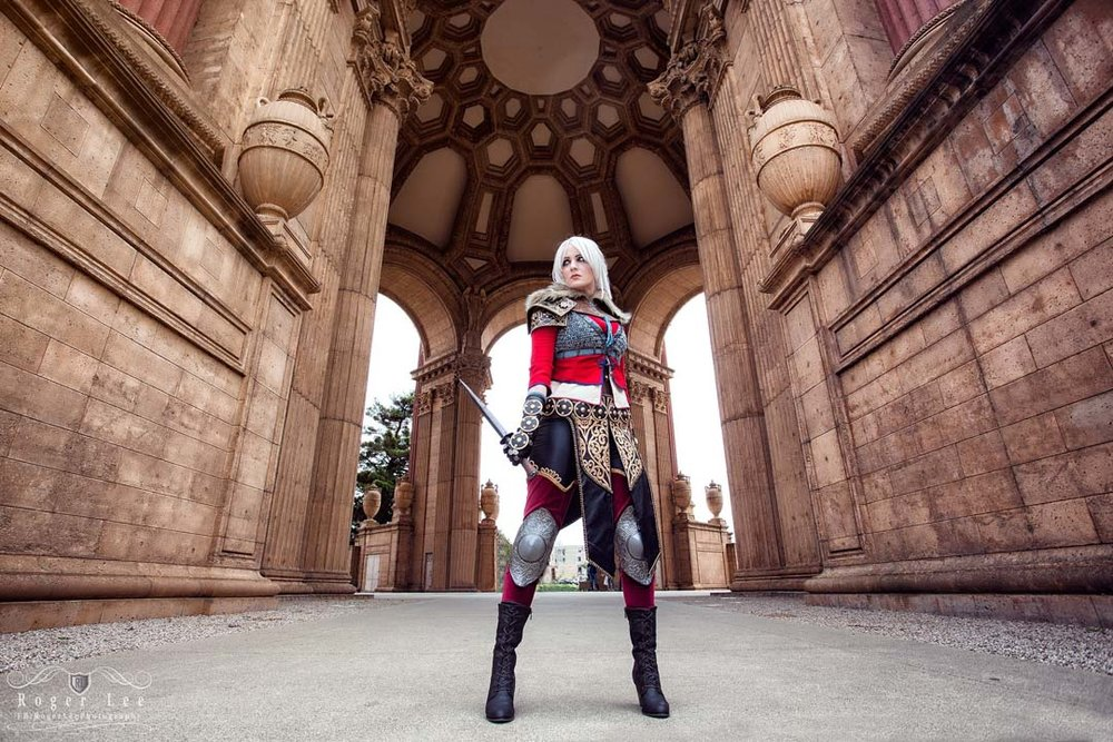 Ciri from The Witcher 3 photo credits:  Roger Lee