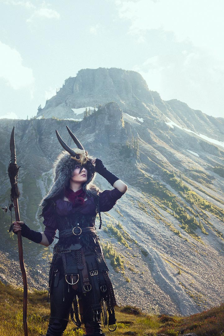 Morrigan from Dragon Age Inquisition photo credits:  Krashly