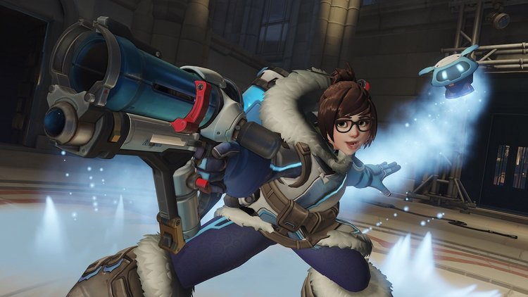 overwatch news rise shine new cinematic feat mei lifted geek
