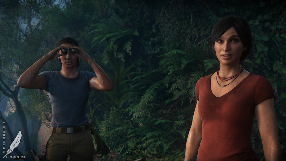 Nadine Ross and Chloe Frazer... the unlikeliest of allies