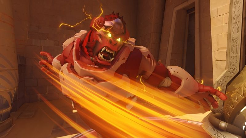 A Winston backhand to the douchebag players in  Overwatch