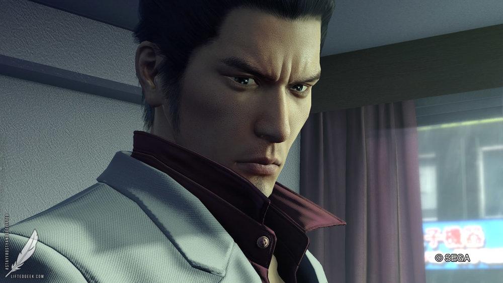 our hero Kazuma Kiryu