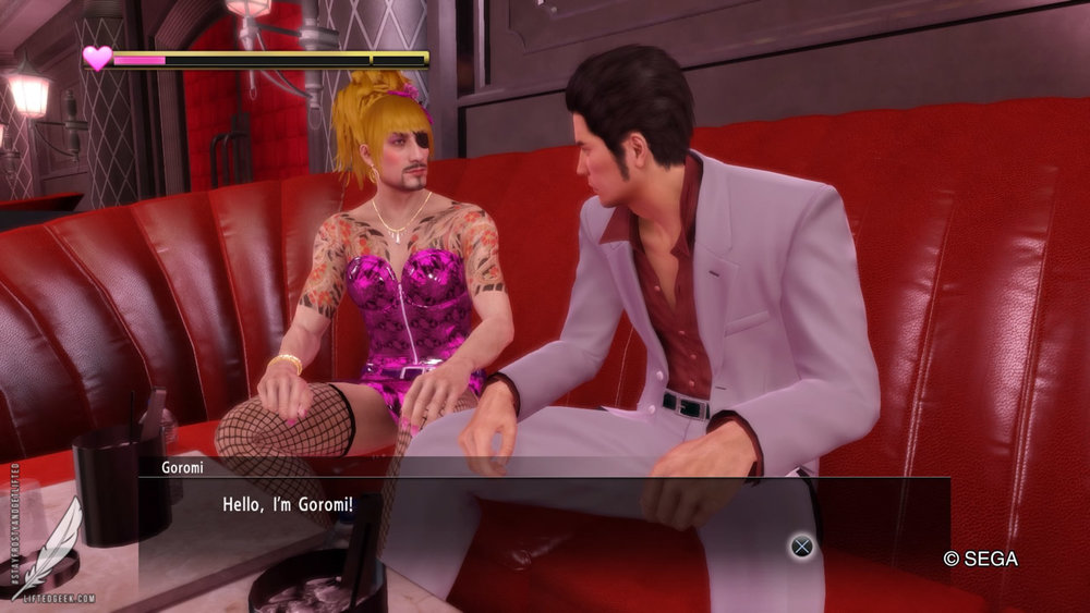 Majima everywhere... literally... EVERYWHERE
