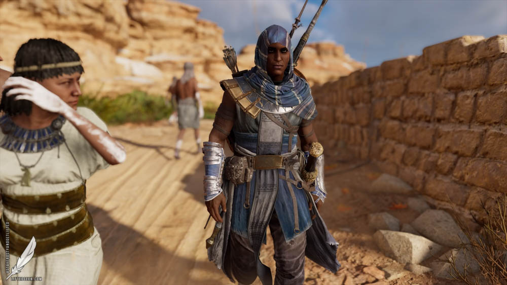 Our hero, Bayek of Siwa
