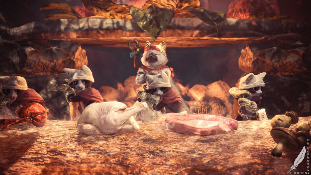 you're gonna love the Palicos!