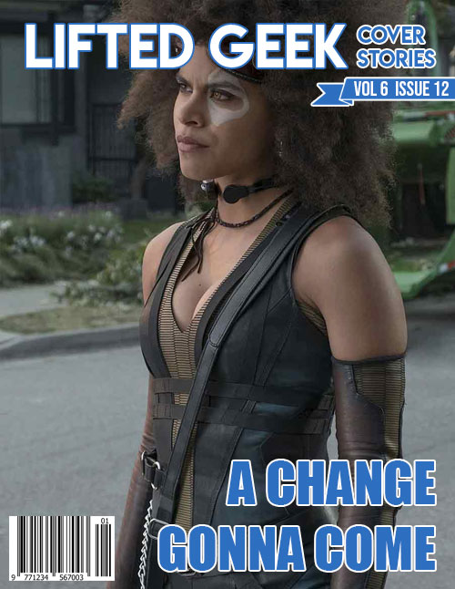 Zazie Beets played Domino in  Deadpool 2