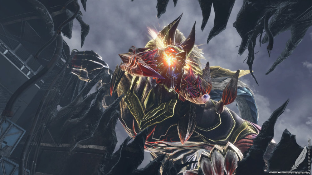 Anubis, the game's flagship Aragami