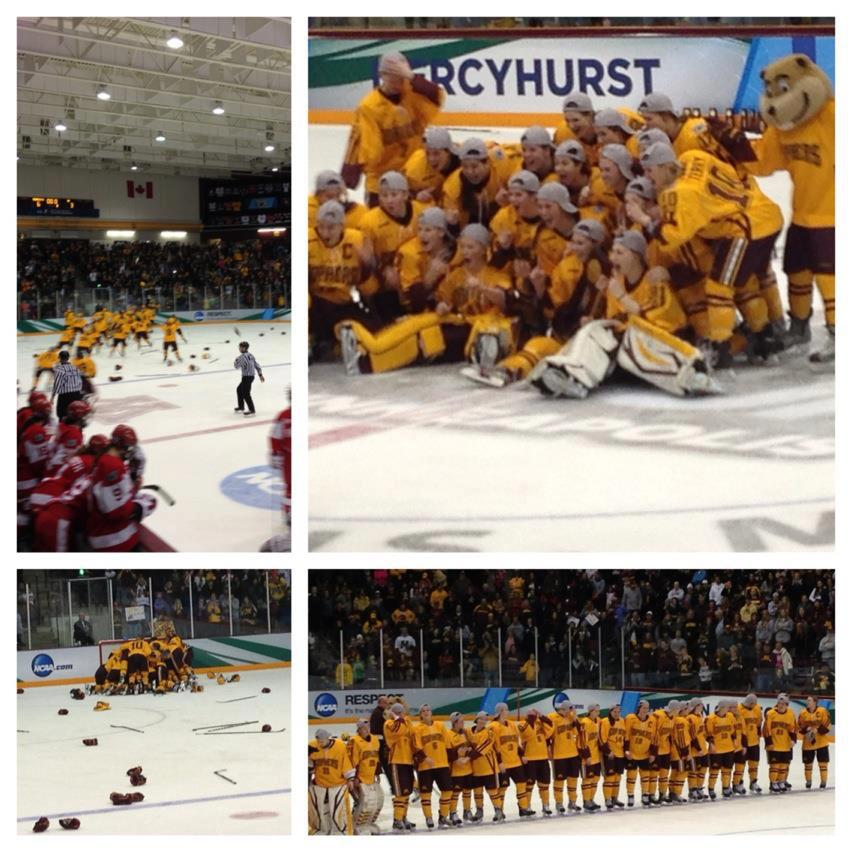 Minnesota Women's Hockey Team