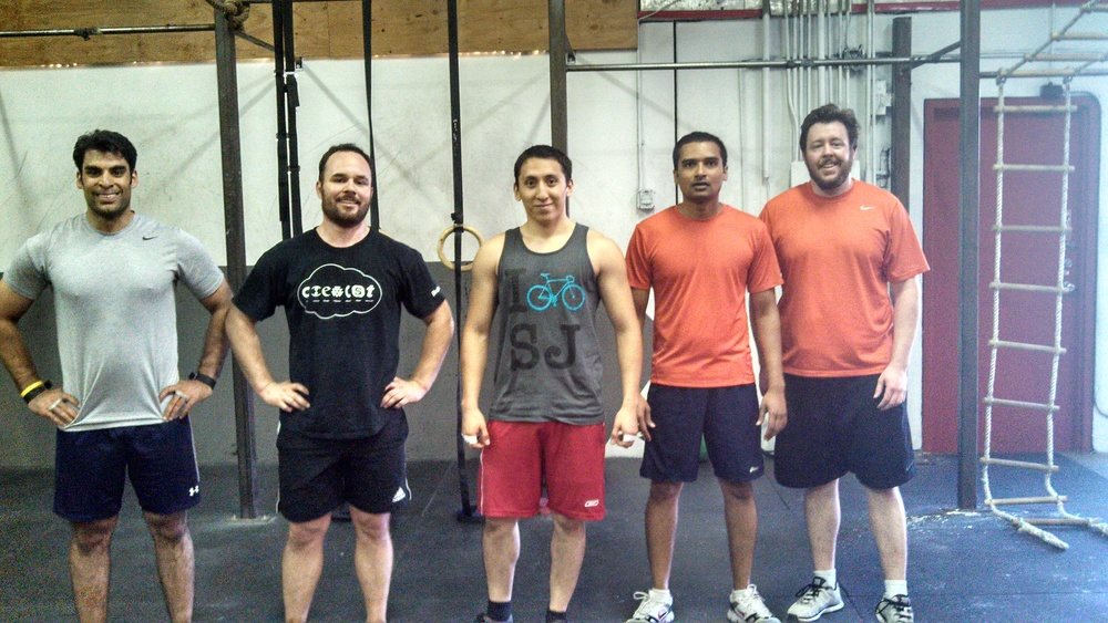 Please welcome newly minted CrossFit SV members Carlos and Niken to the club!
