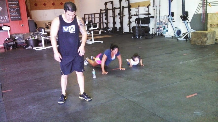 Avery is following the great burpee examples of Tu and Monica!  Thanks guys for helping nap longer during the day!