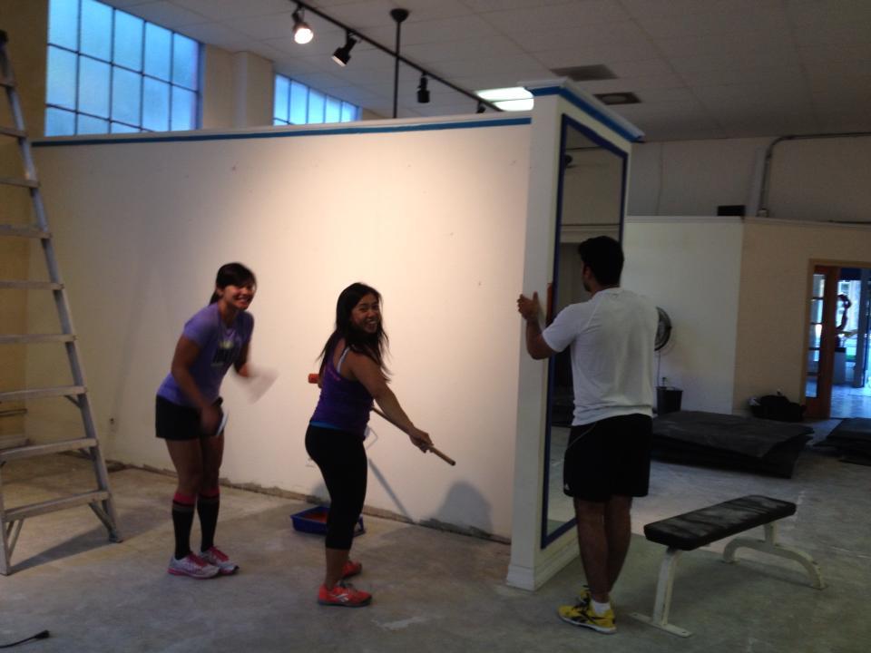 Chai, Monita, Ces and Suneil making CSV HOME!