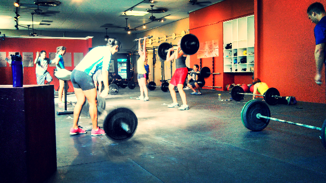 We get to hang out with so many GREAT people doing CrossFit.  I LOVE IT!