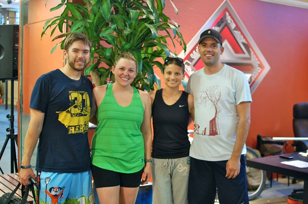 Welcome Kyle, Liz, Lori, and Lee to CrossFit SV!