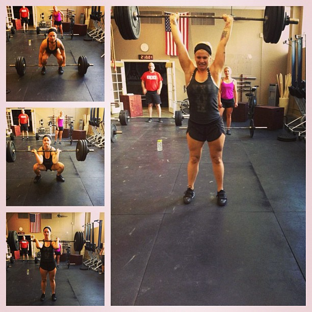 Lindsay's #175 Clean & Jerk PR!