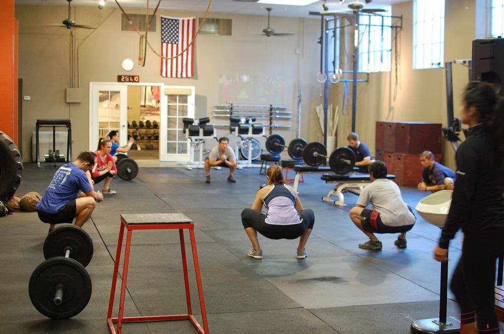 Coach Andréa rocks the oly session Thursdays @ 6PM.