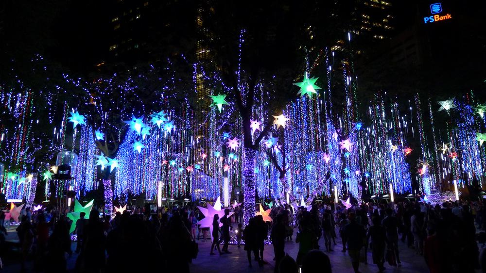 Ayala Light Show- Manila Philippines