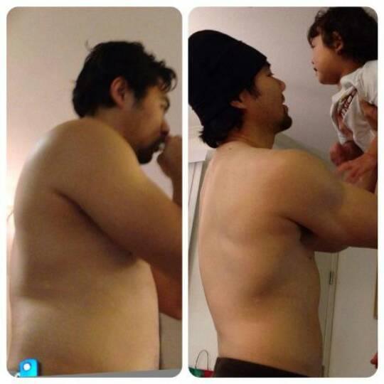 Vaesna takes fatherhood fitness control!