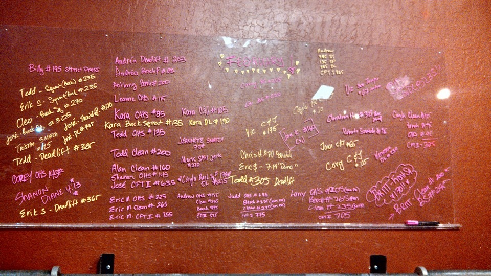 Just 1 week into February and the PR board is filled!