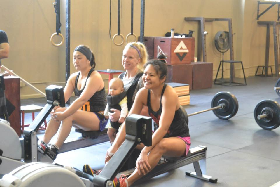 Leanne and Chai deal with pre-wod jitters with visualization and a smile!