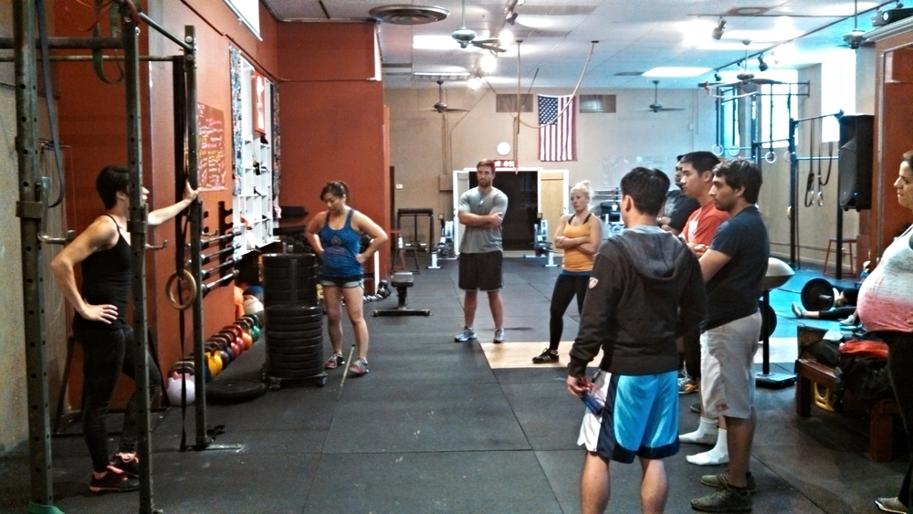 Coach M explains how sumo box squats help make you WESTSIDE strong!