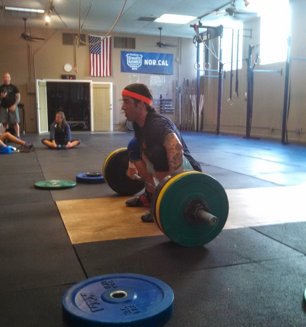Austin from CrossFit Milpitas hits a power snatch PR @ SV!