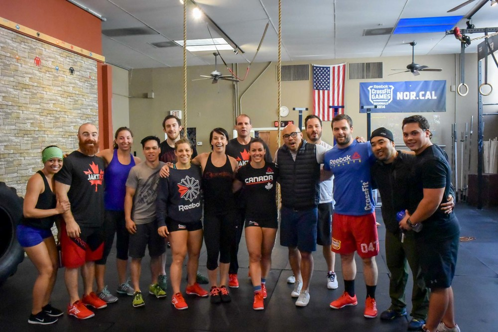 It was AMAZING given the chance to host a TEAM CANADA practice session at our box! Thank you, Lucas Parker, Michelle Letendre, Paul Tremblay, Coach Reed Mackenzie and CrossFit HQ for the honor.