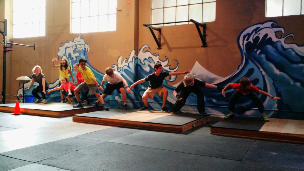 CrossFit Kids catching the wave of FUNctional fitness!