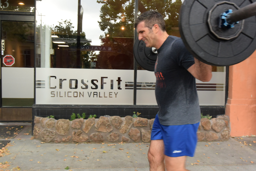 Attorney and CFSV athlete, Christian gets yoked as he takes up his barbell yoke for 800M! Consistently CrossFittin' the early hours before work, Christian is the epitome of strength and justice.