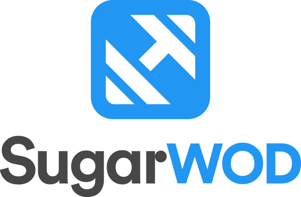 We use SugarWOD to track our workouts.