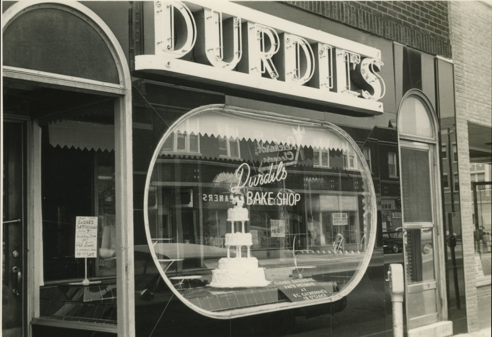 Durdil's bake shop where my mom grew up