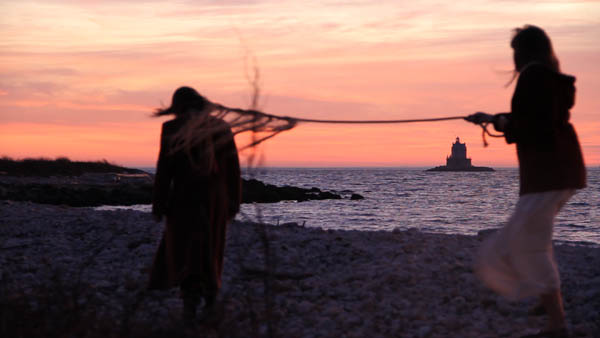 "Video still from ""Tether,"" 2011 (with Meredith Esser)"