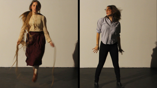 "Video still from ""And Both Shall Row,"" 2012"
