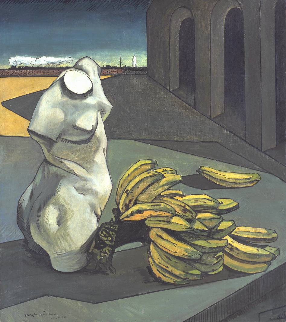 Giorgio di Chirico, The Uncertainty of the Poet, 1913