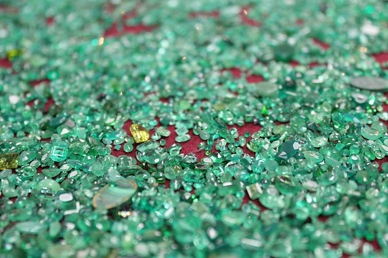 Choosing emeralds