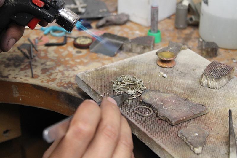 Making of Belleville pendant