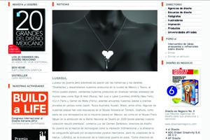 a Diseño magazine. Mexico, 2014