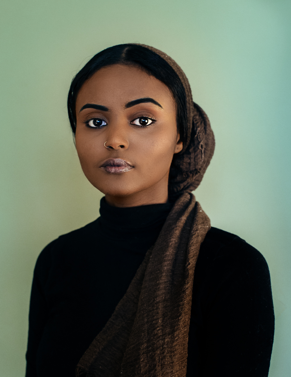 Amina Hassan photographed by Bobby Rogers
