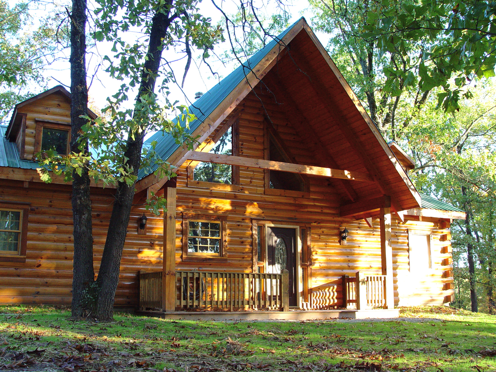 Gallery Branson Bear Log Cabin