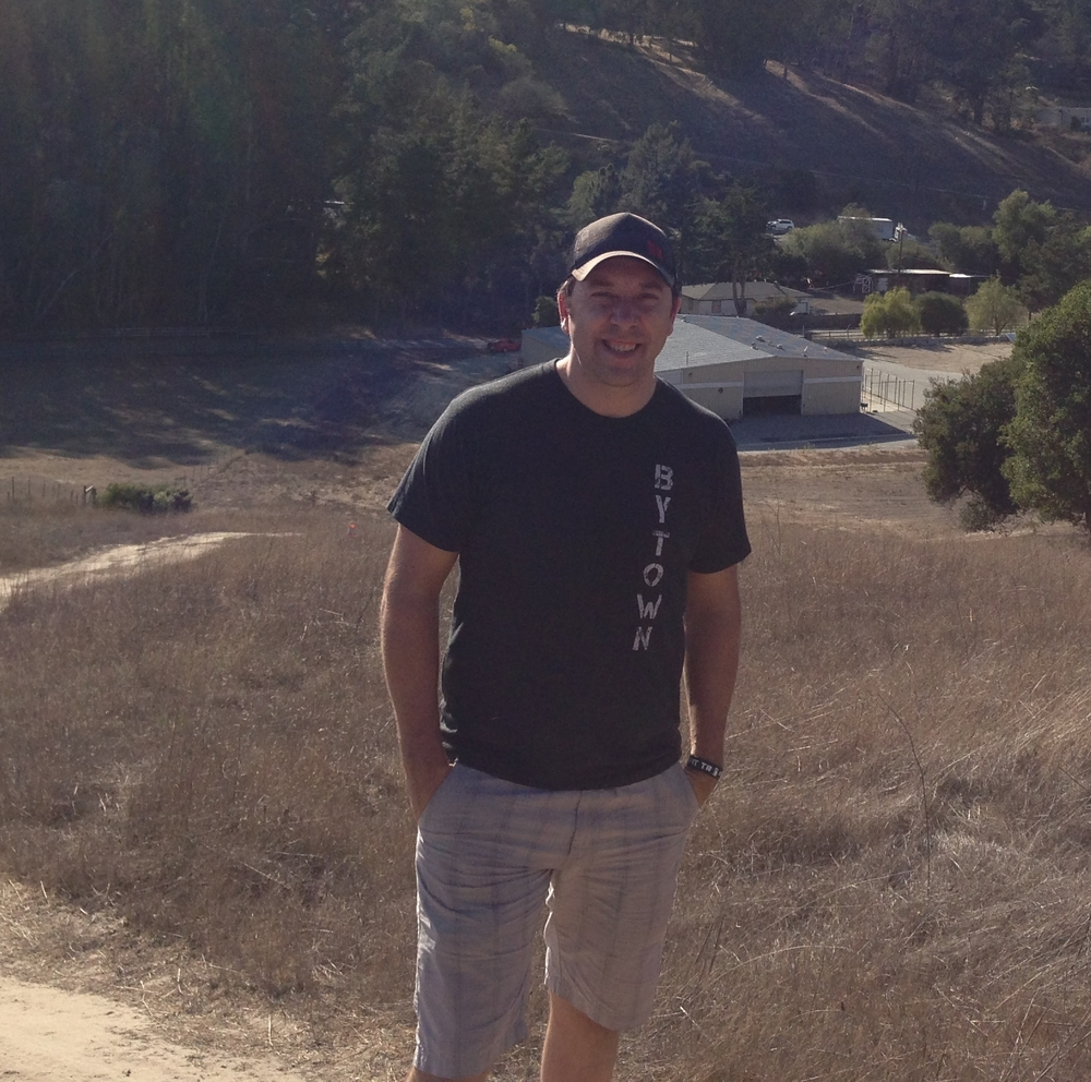 JF at the original ranch in Aromas