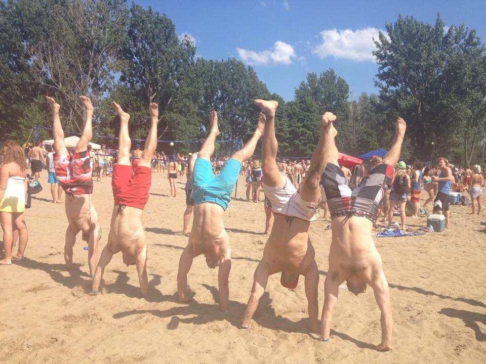 Hope beach handstand walk