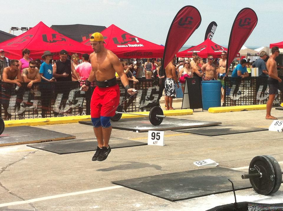 Mike G @ UG Series Beach WOD
