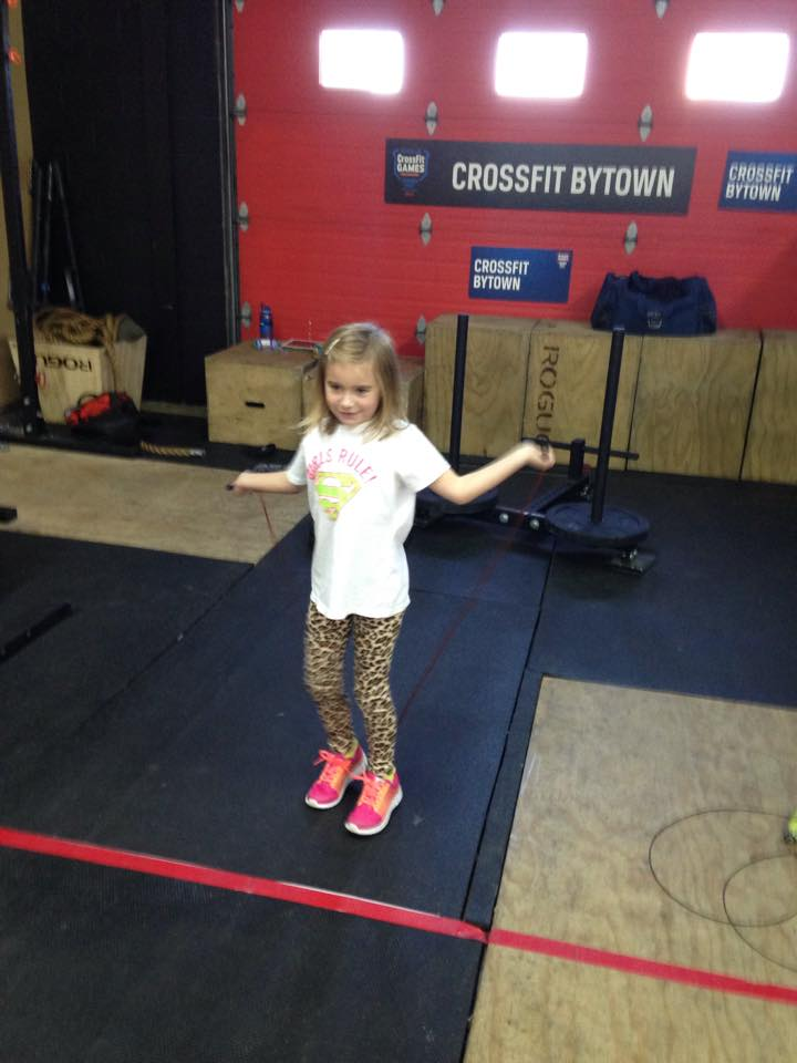 Catching up to DAD at Double unders